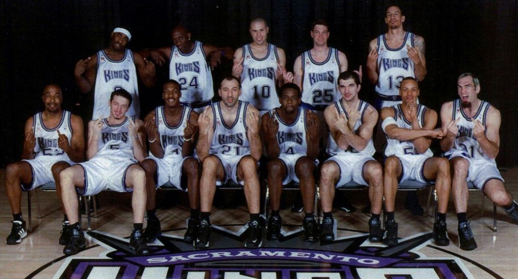 Sacramento Kings version 2001-2002 – le chef-d'œuvre inachevé