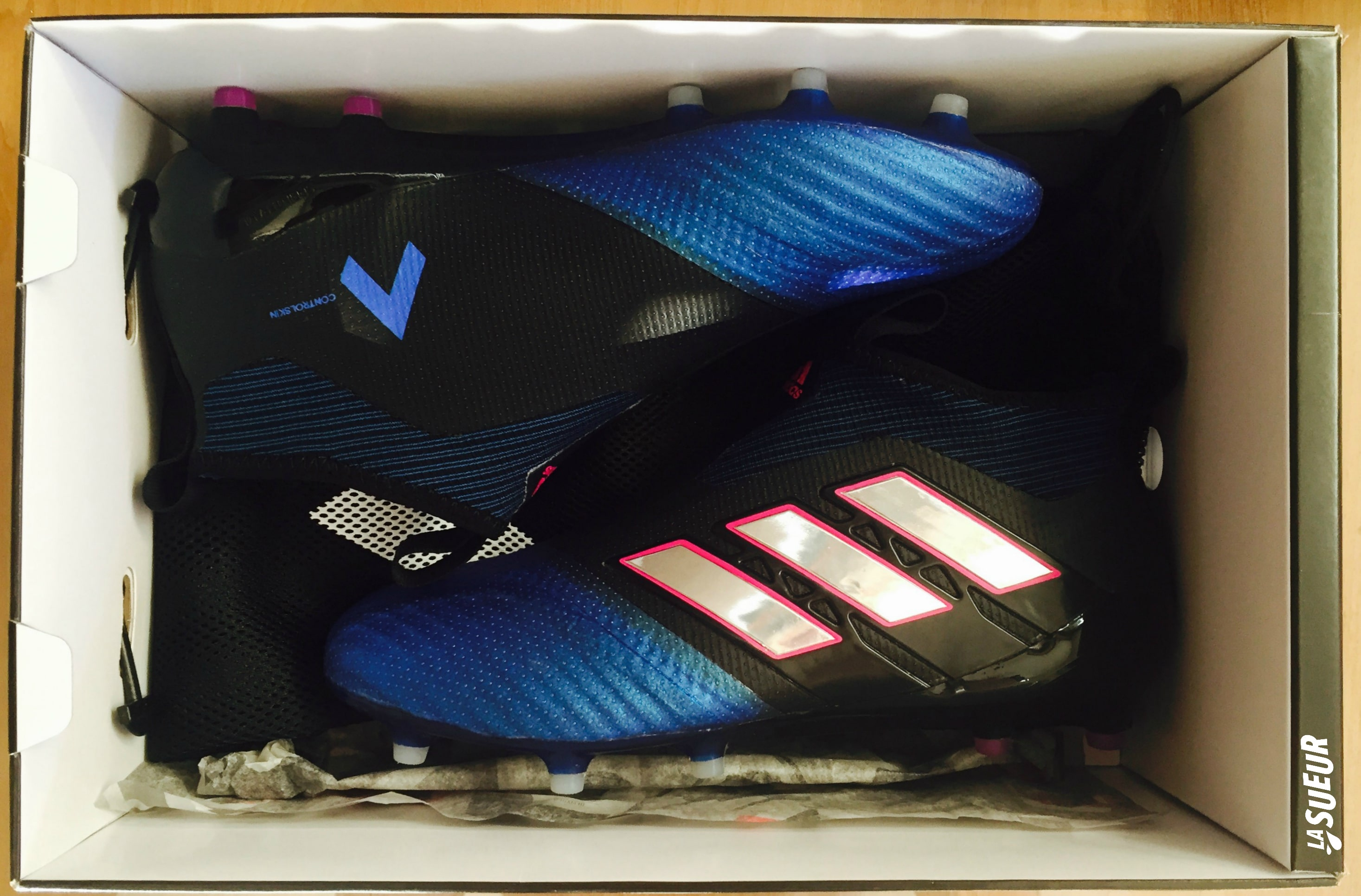 Test - Adidas Ace 17+ Purecontrol Blue Blast