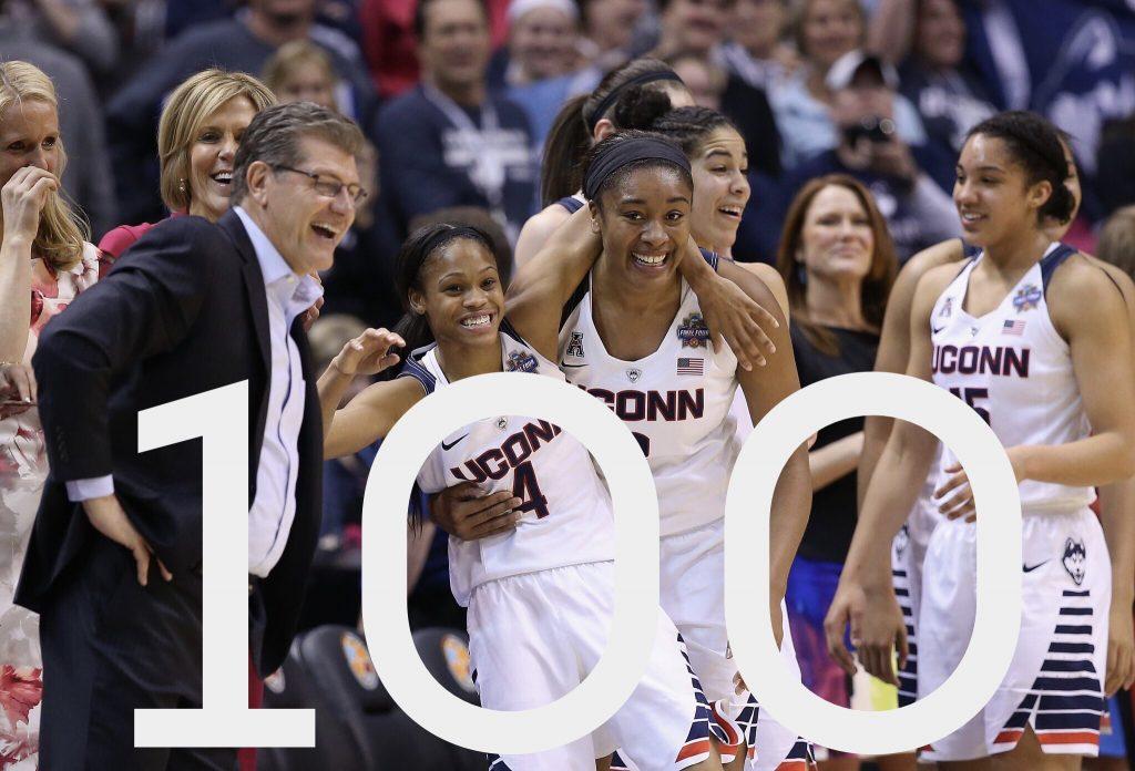 L'incroyable série de 100 victoires consécutives de UConn