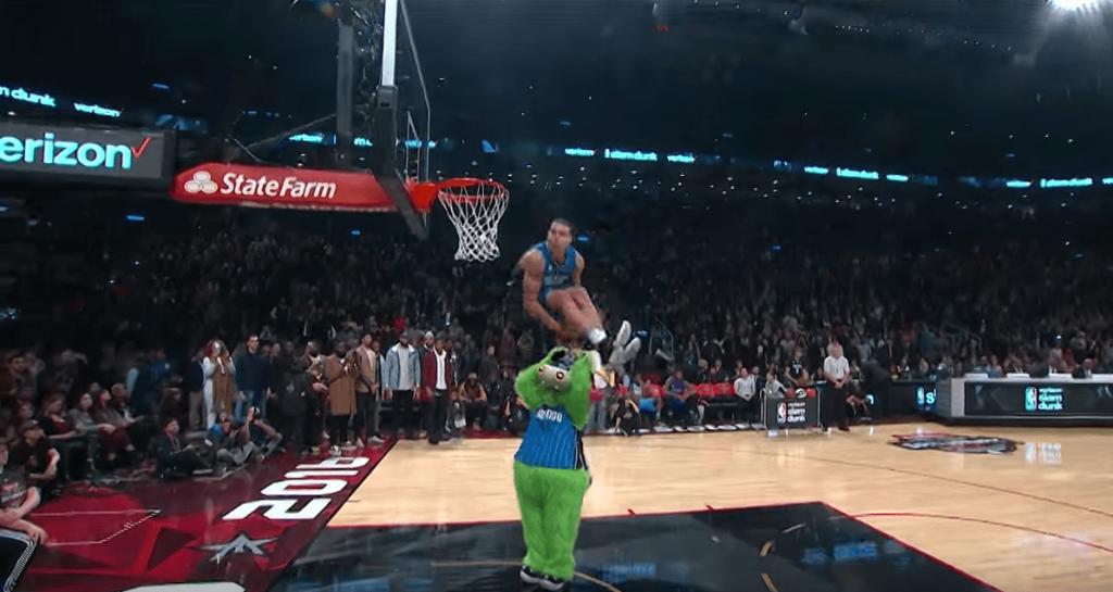 Le concours de dunks 2016 et le duel LaVine vs. Gordon