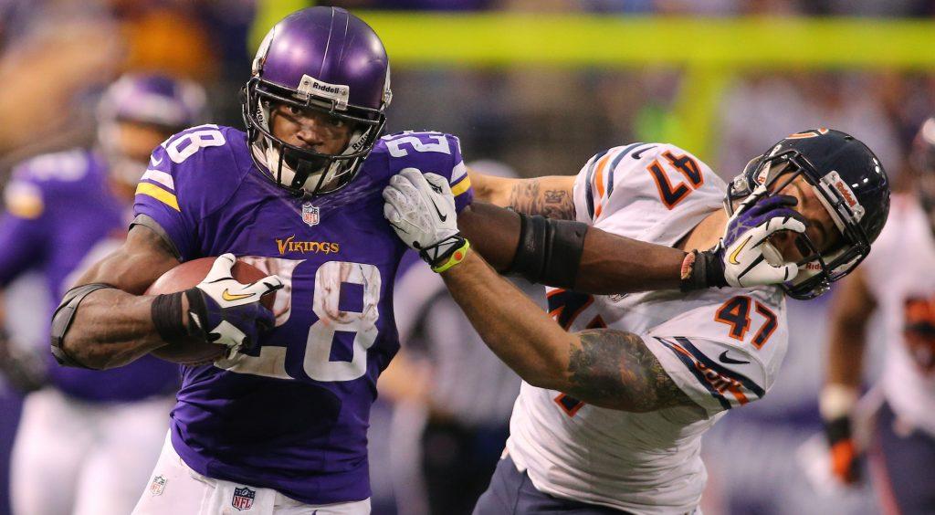 Adrian Peterson lâché par les Minnesota Vikings