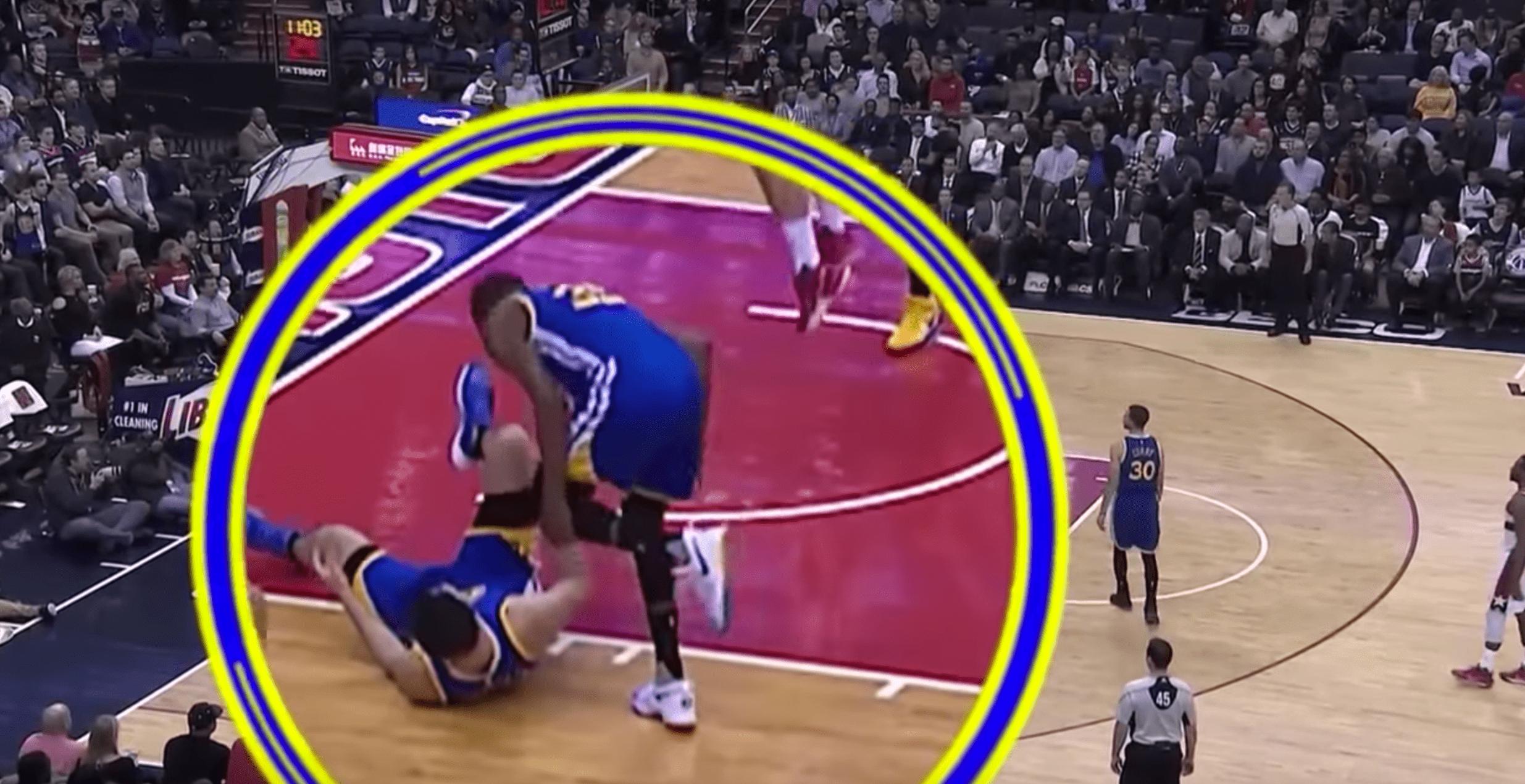 Blessure pour Kevin Durant et défaite des Warriors contre les Wizards