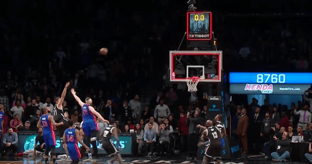 Brook Lopez terrasse les Detroit Pistons au buzzer