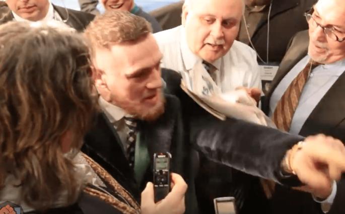 Conor McGregor déchaîné au Madison Square Garden au sujet du combat contre Mayweather