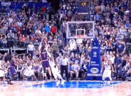 Devin Booker envoie le buzzer beater contre les Mavericks