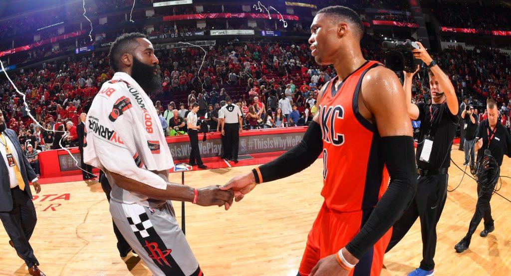 Westbrook en triple double, victoire pour les Rockets de James Harden
