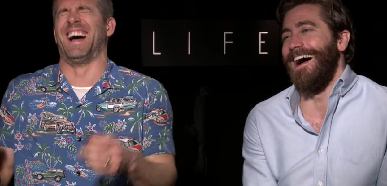 Jake Gyllenhaal et Ryan Reynolds nous offrent une interview folle