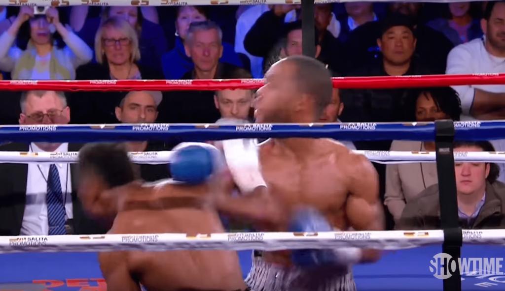 Joshua Greer Jr. met KO son adversaire et lui souhaite «bonne nuit»