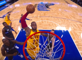 LeBron James envoie le triple double et gère le Magic