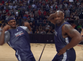 Quand LeBron James et Shaquille O'Neal se faisaient une battle pendant le All-Star Weekend
