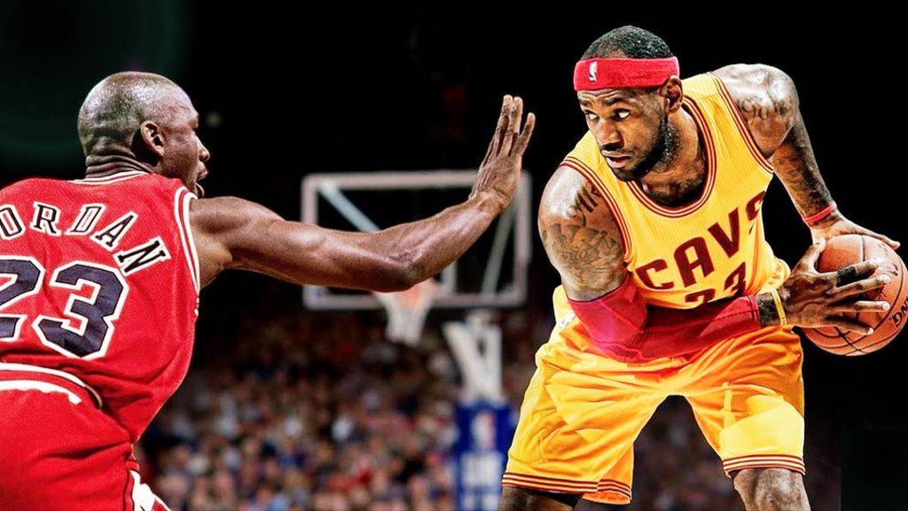 LeBron James est la première vraie menace de Michael Jordan pour Cowherd