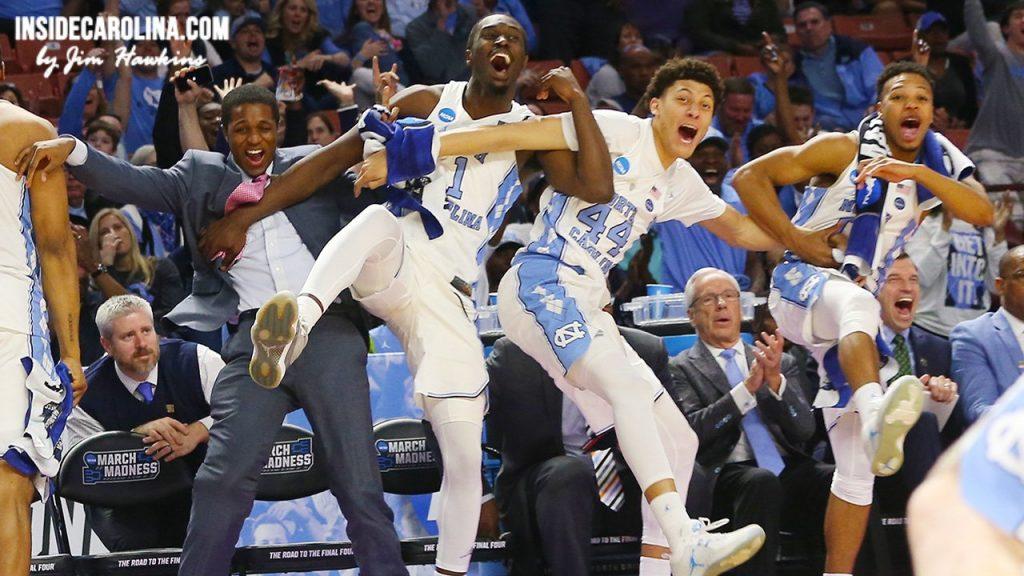 La fin de match irrespirable entre Kentucky et North Carolina qui envoie UNC au Final Four