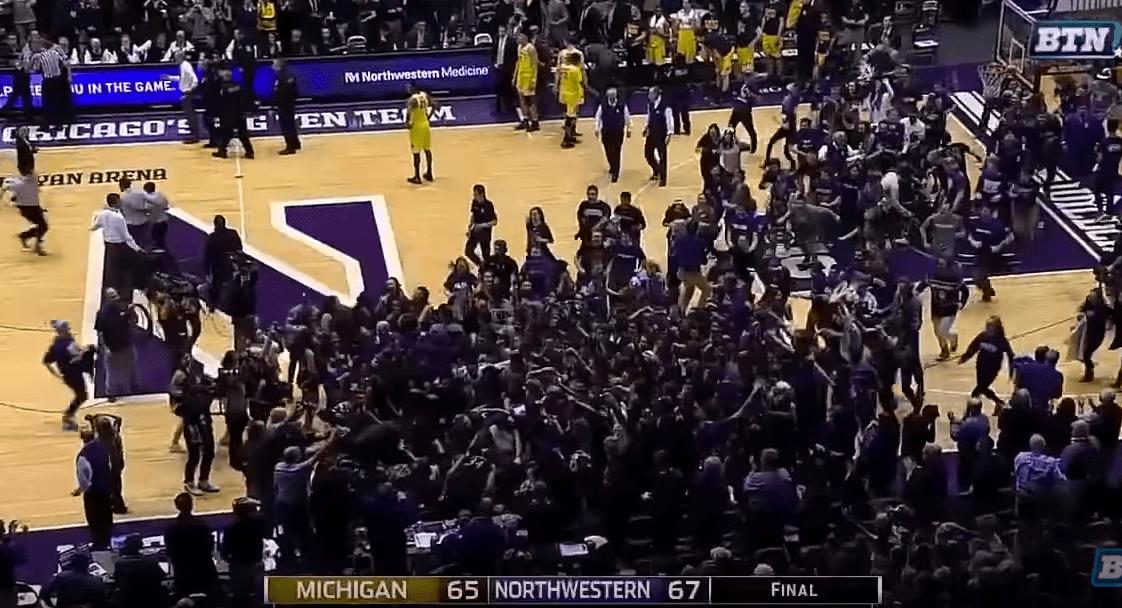 Northwestern fait tomber Michigan au buzzer sur une touchdown pass