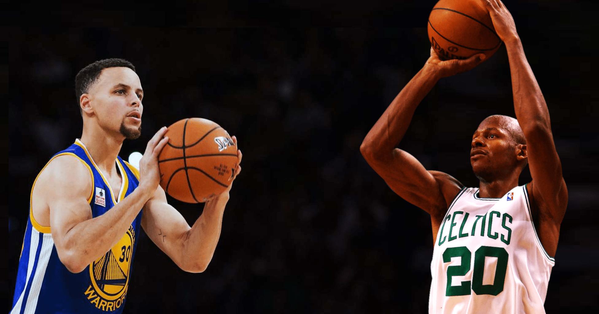 Ray Allen adoube Stephen Curry en tant que meilleur shooteur