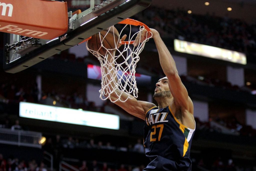 Rudy Gobert démonte les New York Knicks - Career high aux points, pourcentage indécent