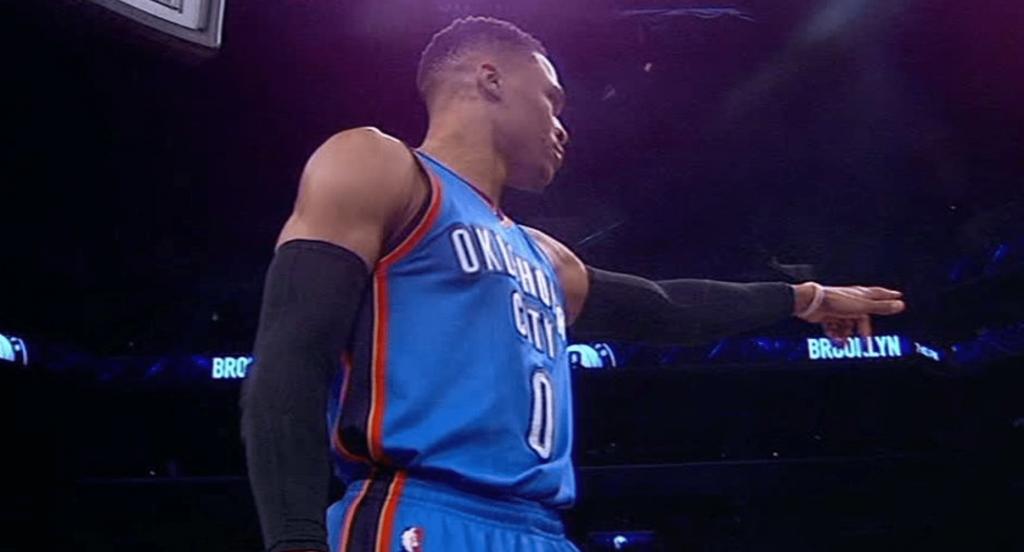 Russell Westbrook enchaîne contre les Brooklyn Nets: triple double, victoire