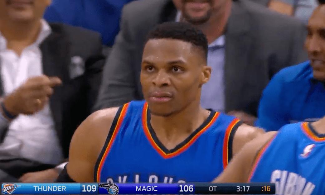 Russell Westbrook et son triple double historique contre Orlando