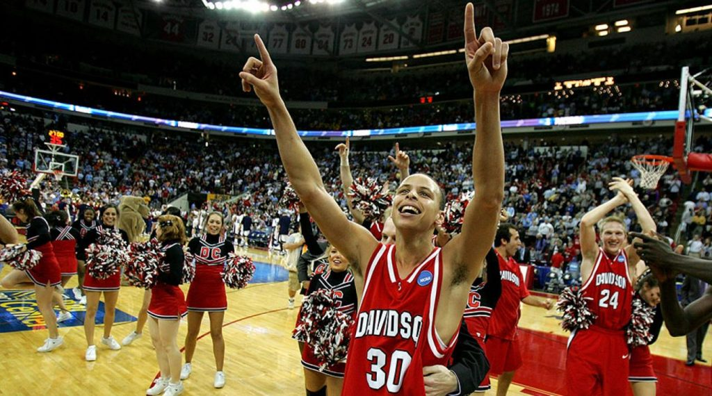 L'incroyable run de Stephen Curry lors de la March Madness 2008