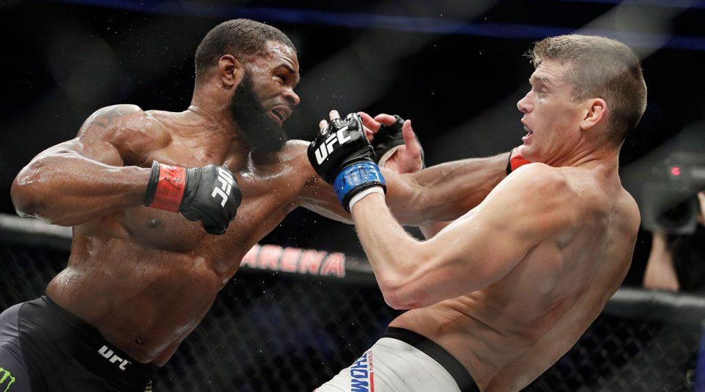 UFC 209 - Woodley conserve sa ceinture après une destruction tardive de Thompson