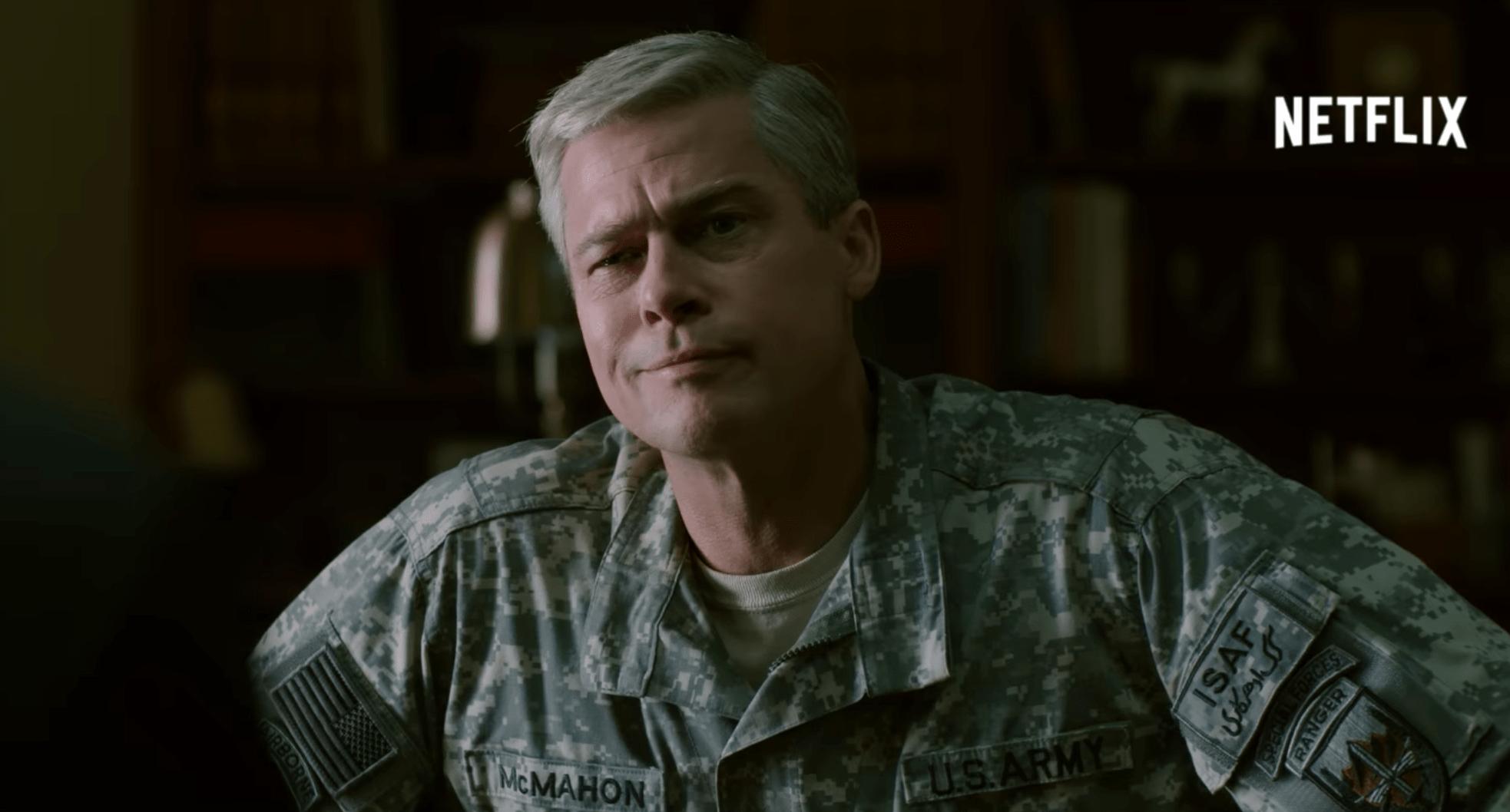 Un premier teaser pour War Machine de Netflix avec Brad Pitt