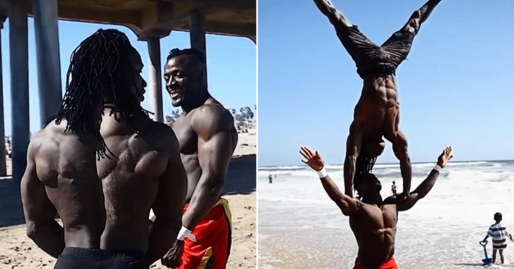 West African Beasts – Sekou et Alseny énormes et 100% naturels