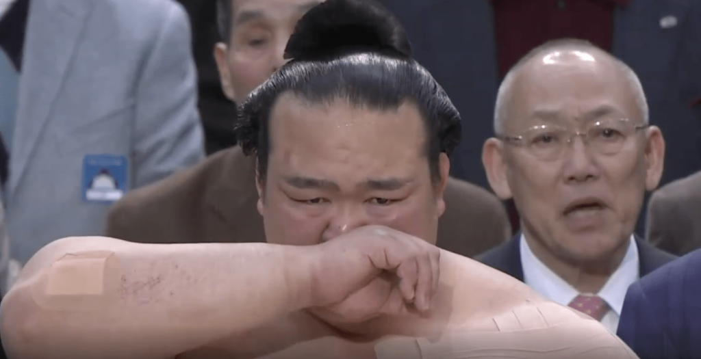 Pour son premier combat en tant que Yokozuna, Kisenosato l'emporte