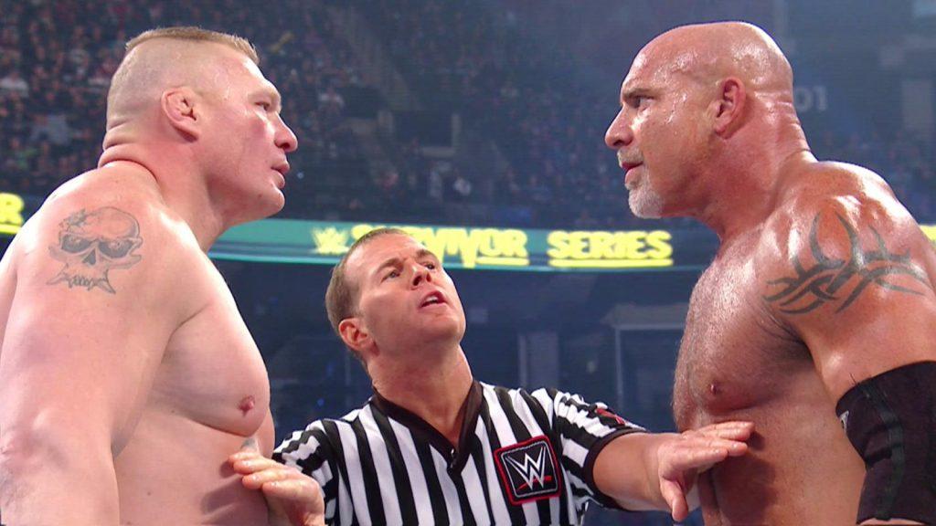 Brock Lesnar vs. Goldberg: De la NFL à la WWE