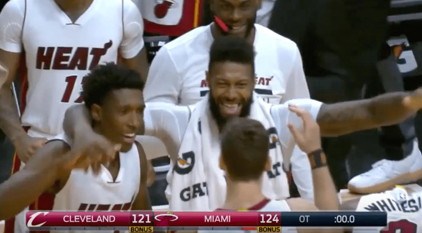 L'équipe B des Cavaliers perd à Miami et laisse filer les Celtics
