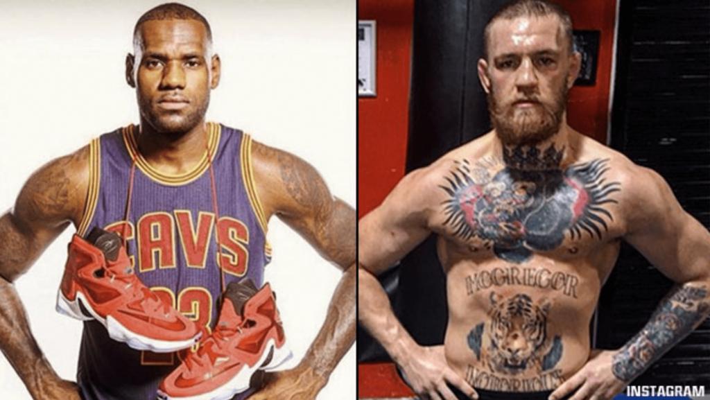 Conor McGregor et LeBron James parmi les 100 personnalités les plus influentes du Time