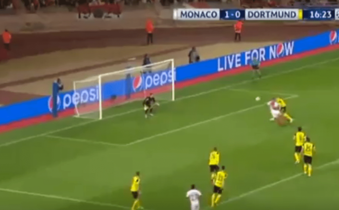 Falcao marque sur un magnifique coup tête et Monaco prend le large