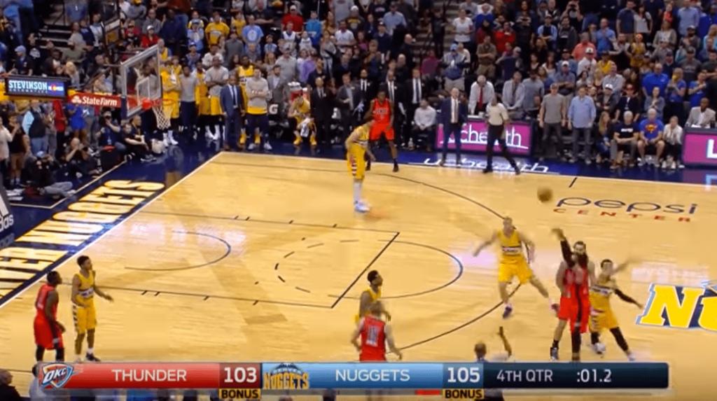 L'énorme Game Winner au buzzer de Russell Westbrook contre les Nuggets