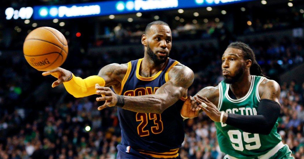 Les Cavaliers de LeBron James explosent les Boston Celtics au TD Garden