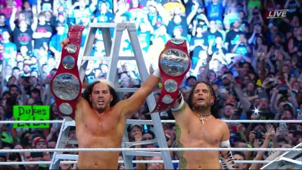 Matt et Jeff Hardy reviennent à la WWE pour WrestleMania 33