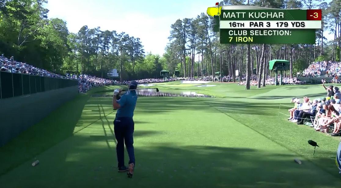 Matt Kuchar réalise un superbe trou en un seul coup