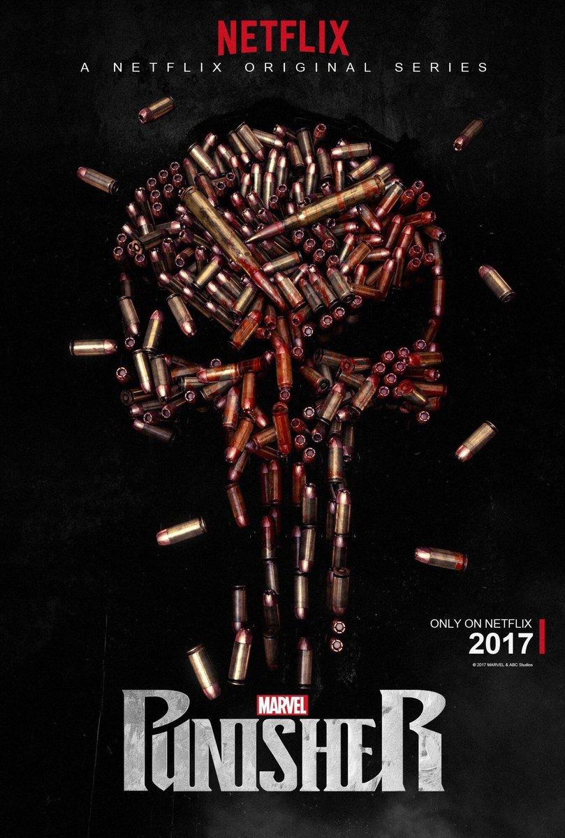 Punisher - un premier poster pour la série Netflix