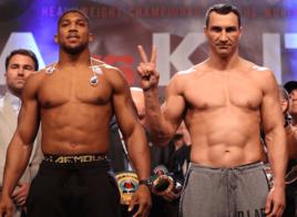 Preview Anthony Joshua vs. Wladimir Klitschko