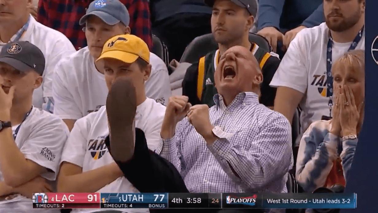 Steve Ballmer, propriétaire des Clippers, déchaîné lors du Game 6