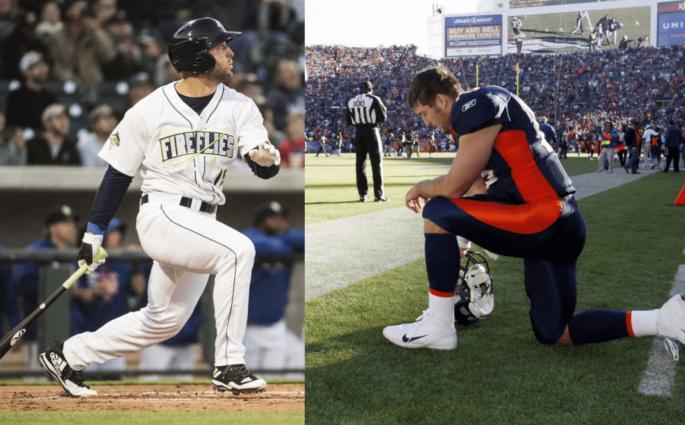 L'incroyable reconversion de Tim Tebow – de la NFL au Baseball