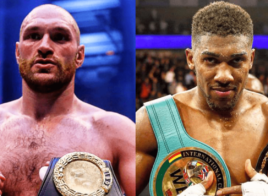 Tyson Fury et Anthony Joshua commencent à se chauffer