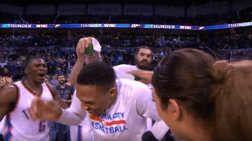 La superbe interview de Westbrook après son 41e triple double