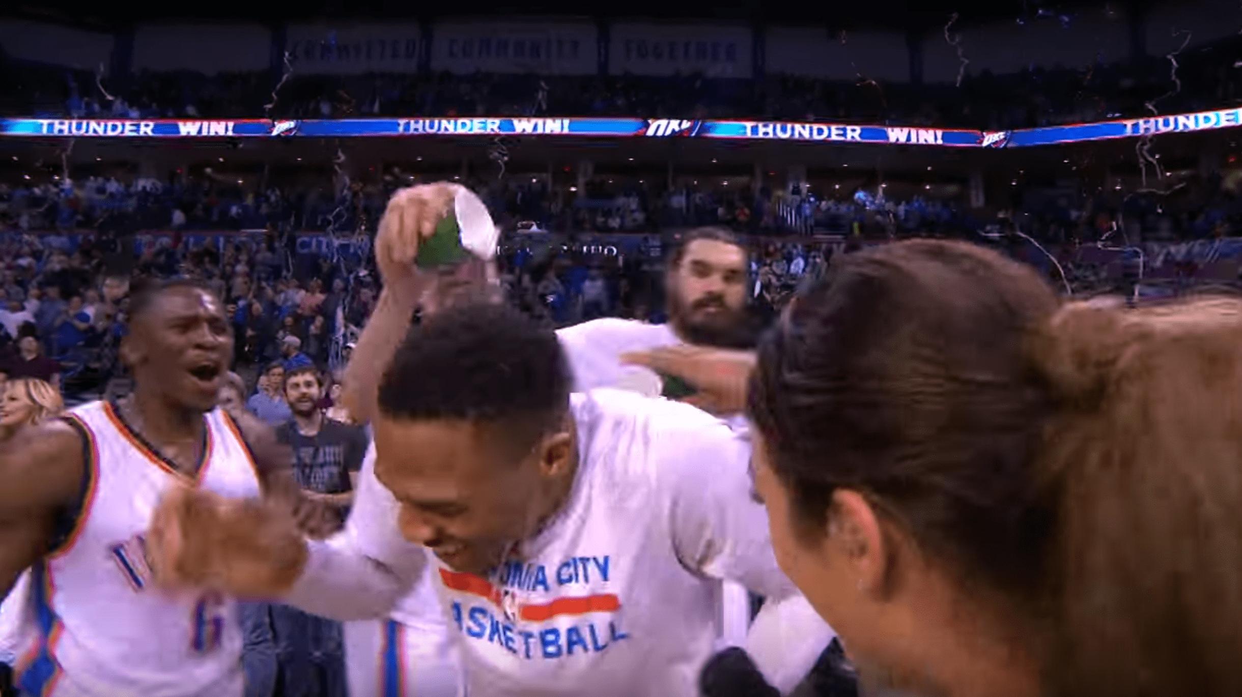 La superbe interview de Westbrook après son 41e triple double