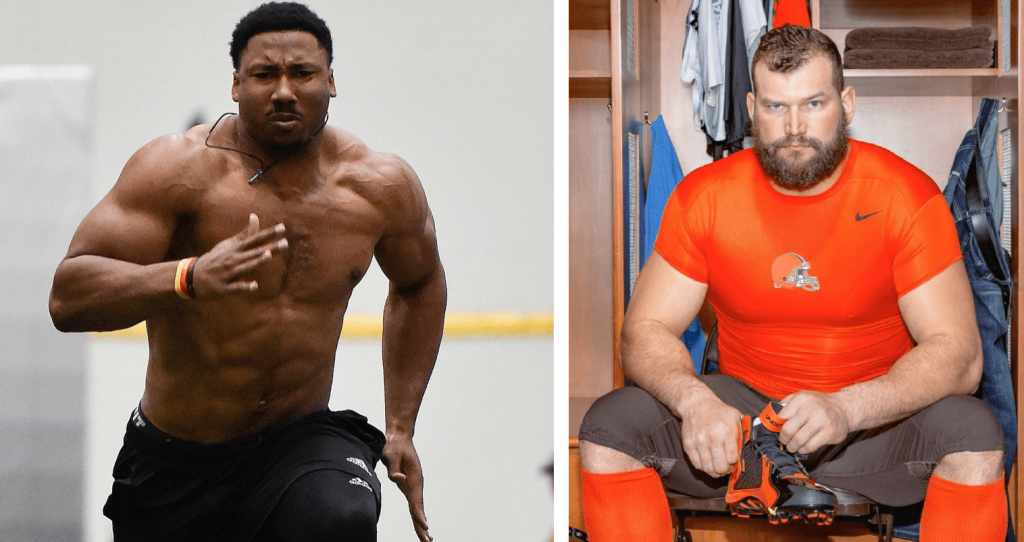 Cleveland Browns - Joe Thomas est déjà fan de Myles Garrett