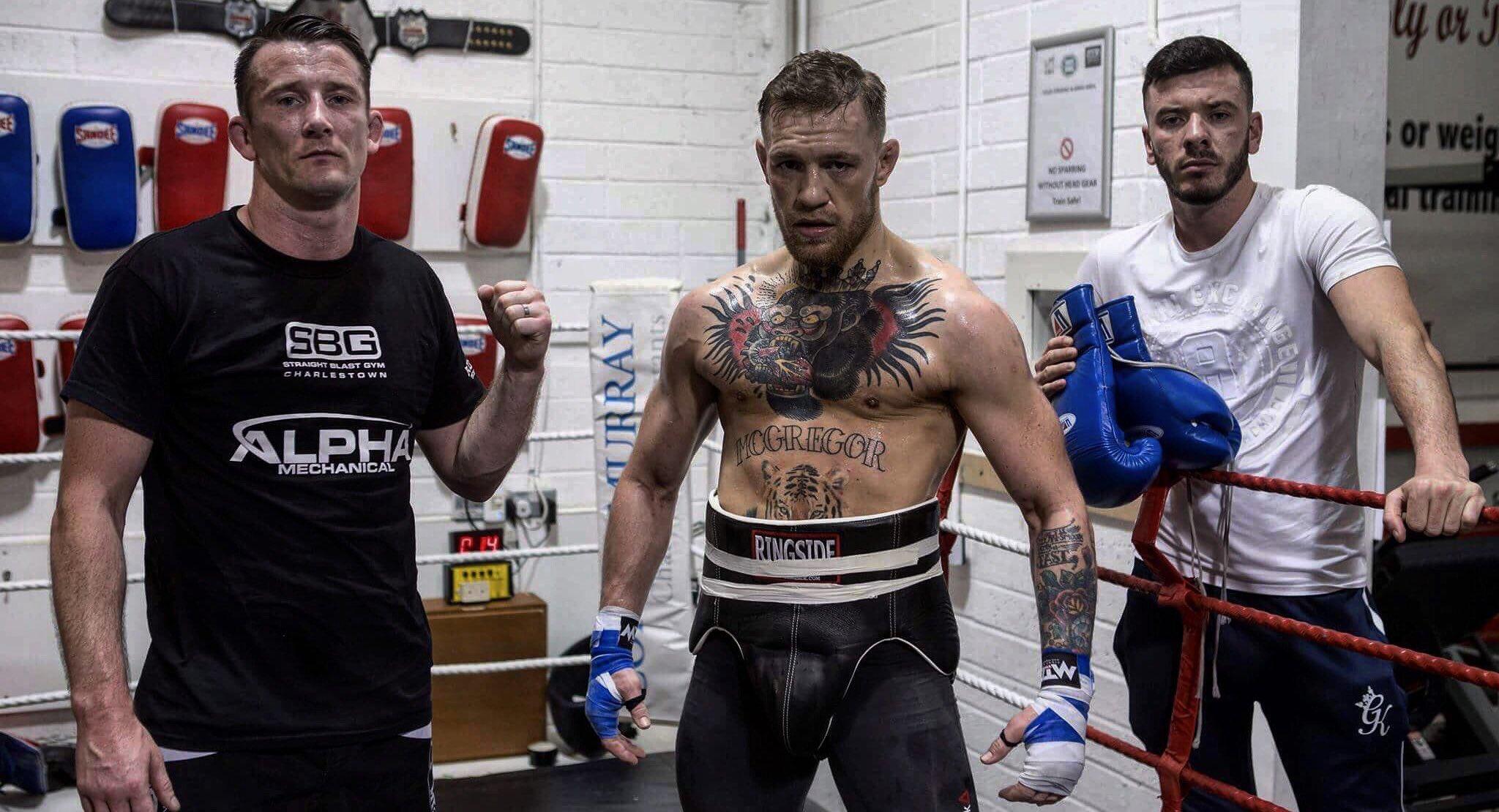 Conor McGregor s'entraîne déjà et met la pression sur Mayweather