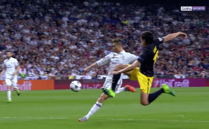 Le triplé de Cristiano Ronaldo contre l'Atletico Madrid