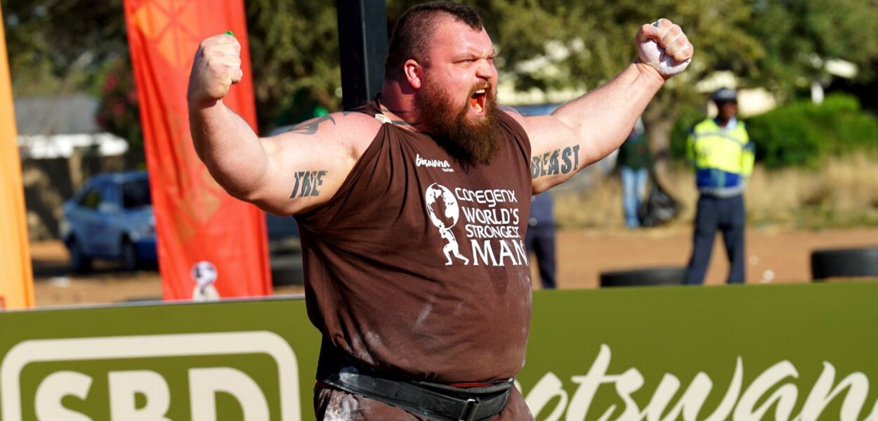 Eddie Hall est devenu le World's Strongest Man devant la Montagne