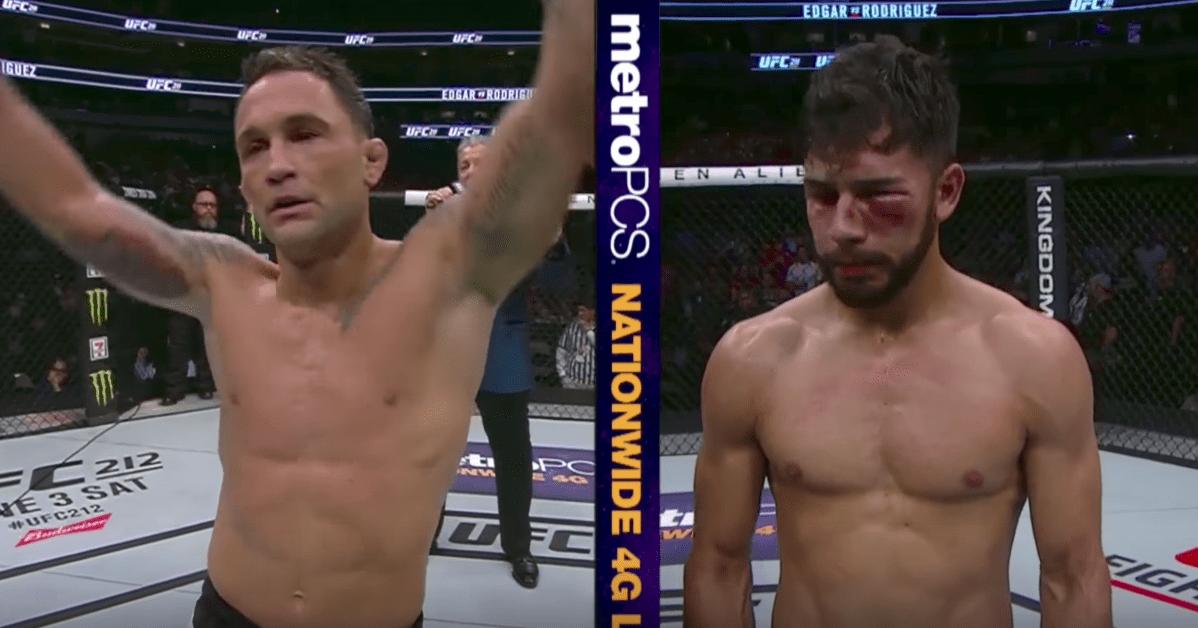 Frankie Edgar a écrasé Yair Rodriguez lors de l'UFC 211