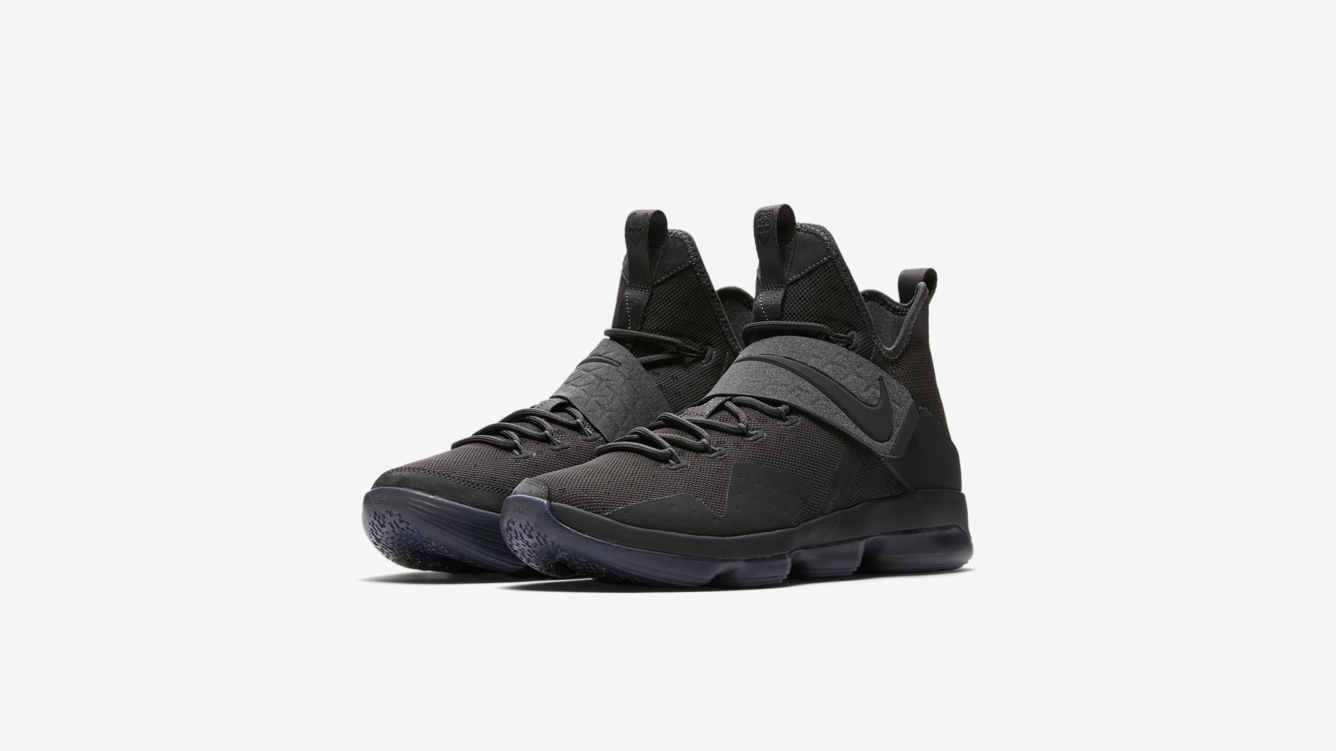 best website ff30c a42f1 Nike dévoile les LeBron 14 Triple Black aka. Zero Dark Thirty-23