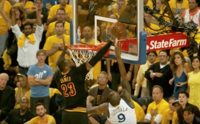 La NBA dévoile le top 10 des deux dernières Finales Warriors vs. Cavs