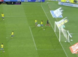Le superbe but de Neymar contre Las Palmas