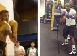 McGregor et Floyd Mayweather publient leurs premiers trainings